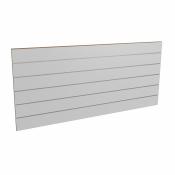 Panel sklepowy SZARY ze wsuwkami aluminiowymi 200 x 90 cm F15