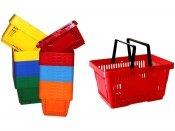 Koszyk na zakupy 22 L. Różne Kolory