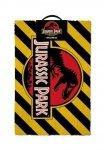 Jurassic Park - Wycieraczka Warning