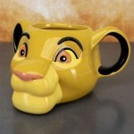 Król Lew - Kubek Simba 3D