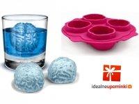 Silikonowa forma lodowa - lodowe mózgi
