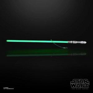 Star Wars Miecz świetlny Kit Fisto - Black Series Replica 1:1 Force FX Lightsaber