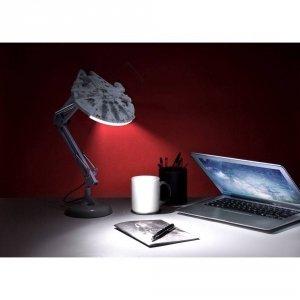 Star Wars - Lampka na biurko 60 cm Millenium Falcon Sokół
