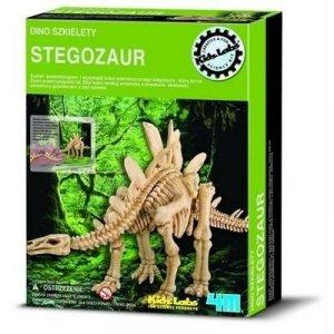 Wykopaliska Stegozaur - dino szkielet