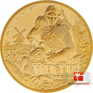 15$ złota moneta kolekcjonerska Ostatnie życzenie - Wiedźmin