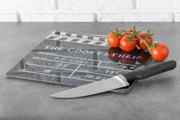 Deska do krojenia - klaps filmowy