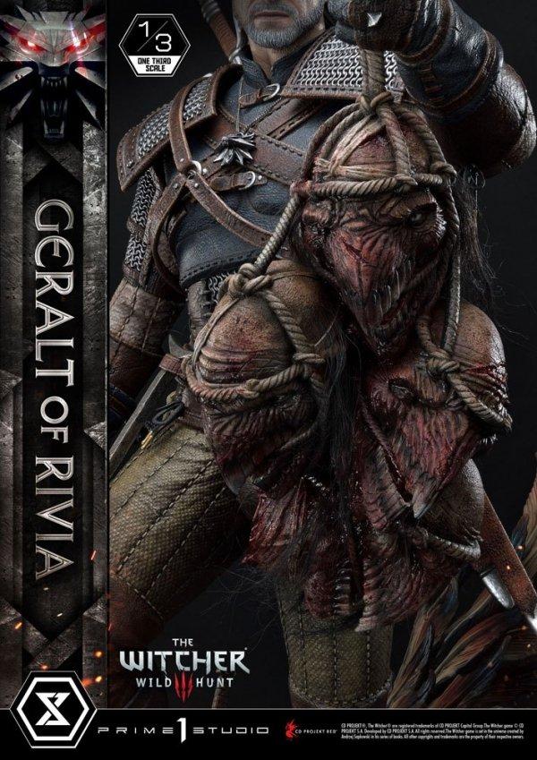 Wiedźmin - Figurka Geralt z Rivii 88 cm Statue 1/8