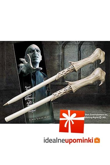 Harry Potter - Długopis i zakładka Lord Voldemort