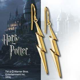 Złote kolczyki - Błyskawica - Harry Potter