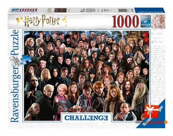 Harry Potter - Puzzle 1000 el. Challenge Ravensburger Bohaterowie