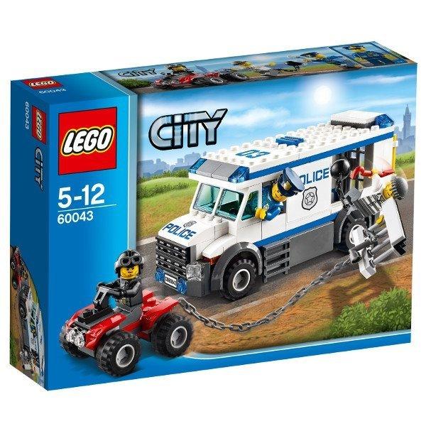 LEGO City 60043 Furgonetka Policyjna