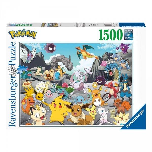 Pokemon - Puzzle 1500 el. Classics Ravensburger