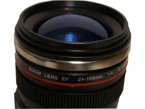 Kubek obiektyw - prezent dla fotografa