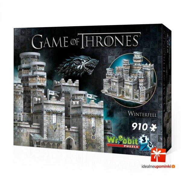 Gra o Tron - Puzzle 3D - Winterfell 910 el.