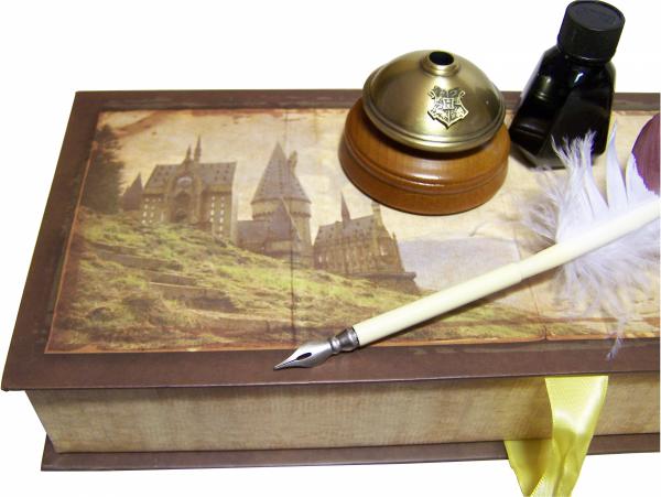 Harry Potter - Gęsie pióro do pisania i kałamarz