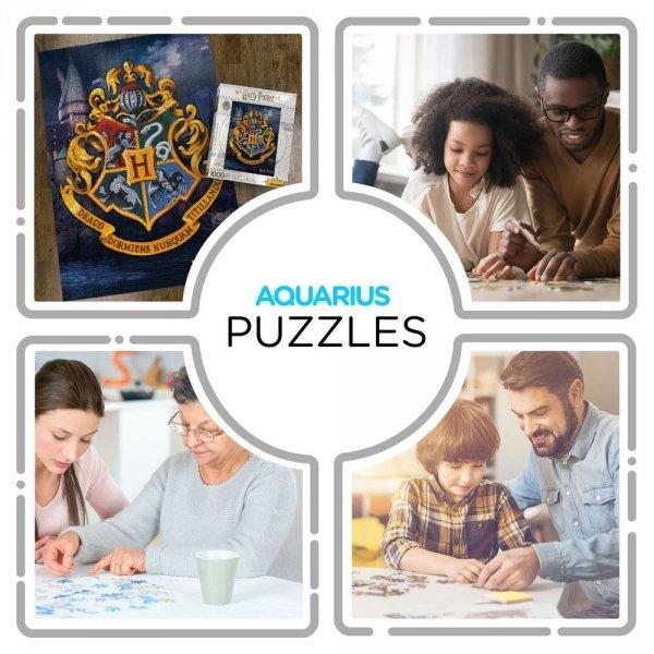 Harry Potter - Puzzle 1000 el. herb Hogwart