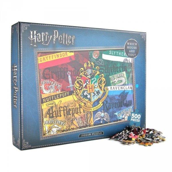 Harry Potter - Puzzle domy Hogwart