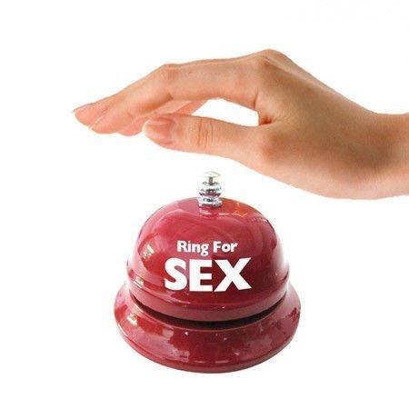 Biurkowy dzwonek na sex