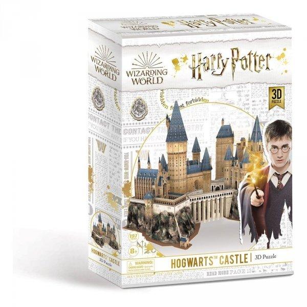 hogwart puzzle 3d