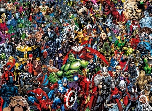 Marvel - Puzzle 1000 el. Avengers Impossible Clementoni