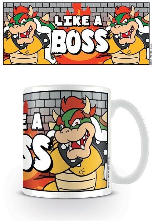 "Super Mario Bros - Kubek ""Like a boss"""