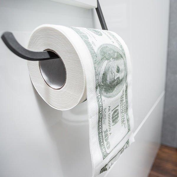 Papier toaletowy $ 100 dolarów $ XL