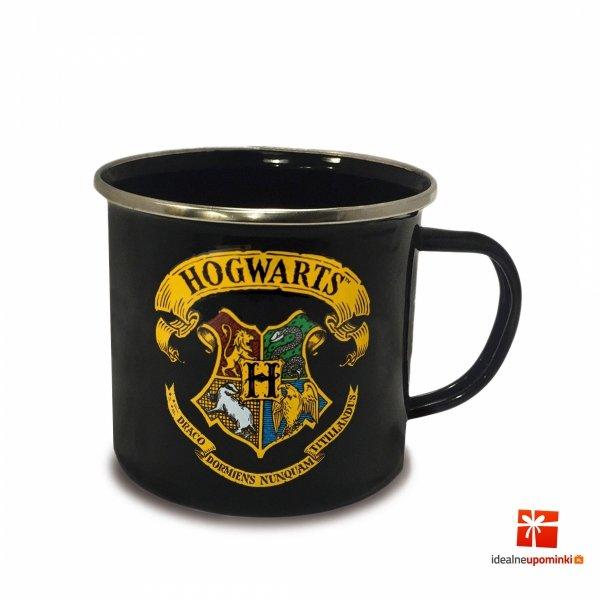 emaliowany kubek hogwart