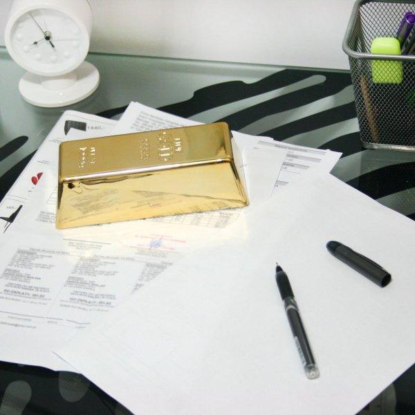 Sztaba złota - sztabka idealna na prezent
