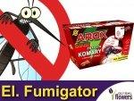 AROX Elektrofumigator turystyczny + wkład