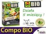 Ekologiczny Organiczny Nawóz z owczej wełny Uniwersalny COMPO BIO 2 kg