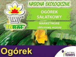 BIO Ogórek Sałatkowy MARKETMORE nasiona ekologiczne 2g