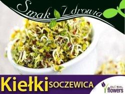 Nasiona na Kiełki - Soczewica (Lens Culinaris) nasiona 30g