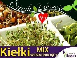 Nasiona na Kiełki - Mieszanka wzmacniająca organizm 30g