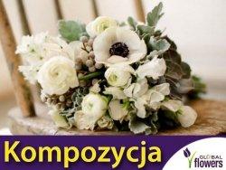 Kompozycja Białych Roślin Jednorocznych 1 g nasiona