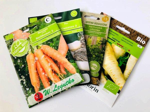 nasiona ekologiczne cena gdzie kupić sklep internetowy BIO zestaw nasion
