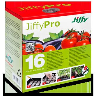 Jiffy krążki torfowe 16szt do wysiewu nasion