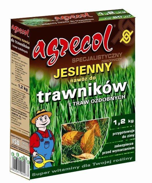 Agrecol Jesienny nawóz do trawników i traw ozdobnych 1,2kg