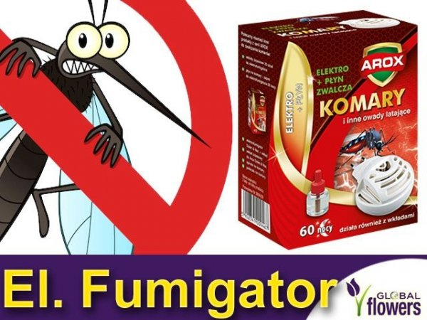 AROX Elektrofumigator + płyn na komary 45ml
