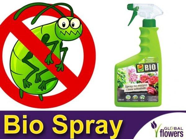 COMPO BIO 750ml Ekologiczny spray na mszyce i inne szkodniki.