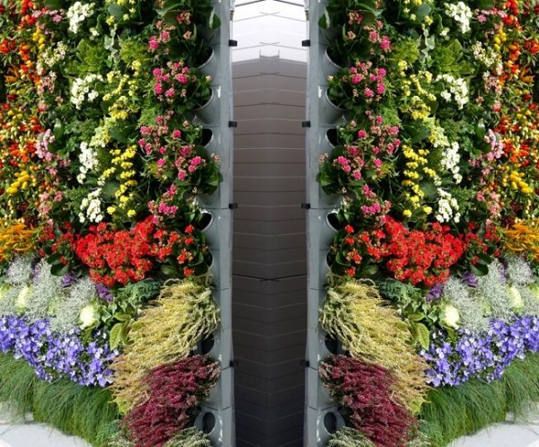 System ogrodów wertykalnych Pixel Garden Duży moduł PG14 Komplet 18szt. (1m2)