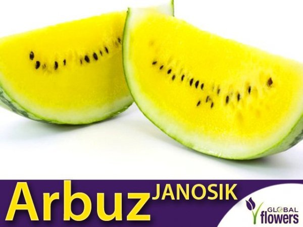 Arbuz Janosik Kawon Żółty