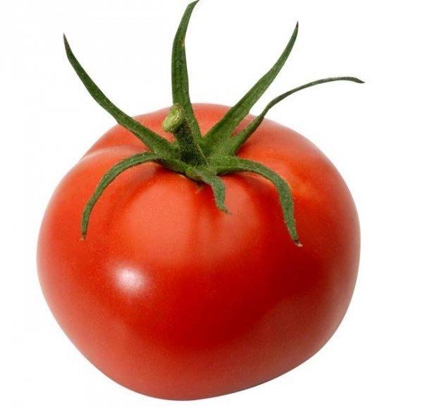 Duże piękne owoce pomidora Apis