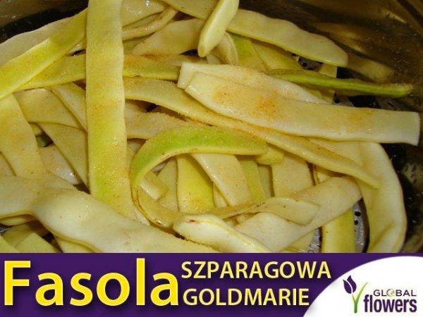Fasola szparagowa tyczna typu MAMUT GOLDMARIE (Phaseolus vulgaris) XL 100g