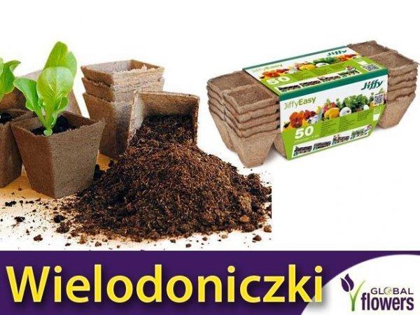 Wielodoniczki torfowe 50 szt. Przyjazne środowisku