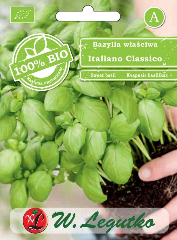 BIO Bazylia nasiona