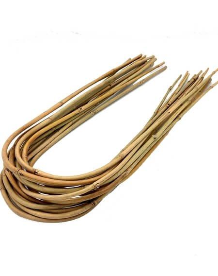 łuki bambusowe do roślin pnących i kwiatów
