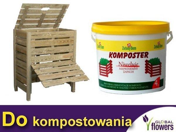 Zielony Dom Komposter nawóz kompostujący 4 kg