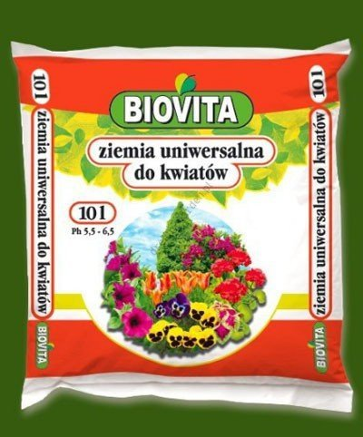 Ziemia uniwersalna do kwiatów 10L