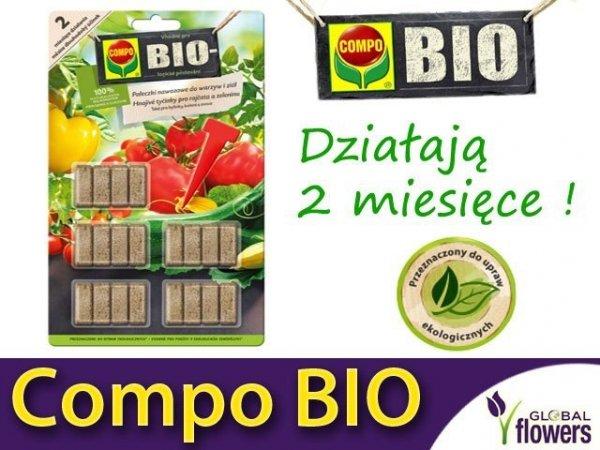 ekologiczne pałeczki nawozowe do ziół i warzyw