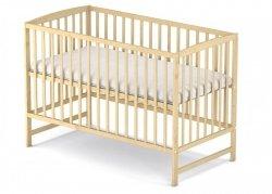 łóżeczko kolor sosna  ARCO  120/60 cm